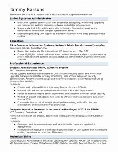 Ux Resume Template - Junior Web Developer Resume Utd Resume Template Unique Fishing