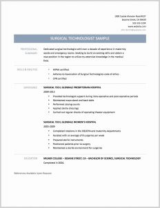 Veterinarian Resume Template - Vet Tech Resume New Surgical Technician Resume Samples Elegant Tech