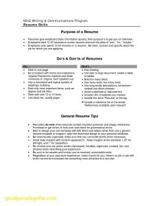 Virginia Tech Resume Template - 47 Awesome It Technician Resume