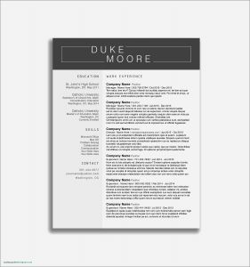 Warehouse Manager Resume Template - Sample Resume for Warehouse Manager Valid Sample Resume Warehouse