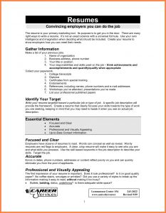 Wordperfect Resume Template - How to Make A Resume In Microsoft Word Perfect How to Make A Resume