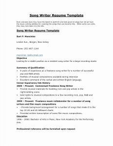 Writers Resume Template - Help Writing A Resume New College Resume Example Writers Resume 0d