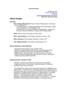 Yale Resume Template - U T Resume Examples Pinterest