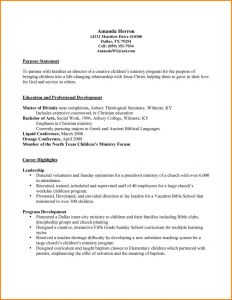 Youth Minister Resume Template - Resume Template Pastor Resume Template Woodpecker Feeder