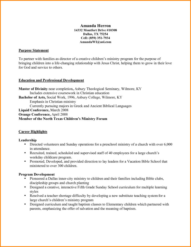 youth minister resume template example-Ministry Resume Men Weight Chart Pastoral Resume Template Popular Pastor Resume Template 4-i