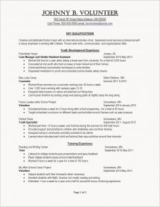 Youth Ministry Resume Template - Perfect Resume Example Luxury Resumes Skills Examples Resume